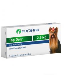 Top Dog 2,5 KG – 4 Comprimidos