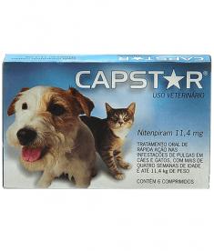 Capstar 11, 4 MG - 6 COMPRIMIDOS