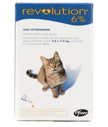 Revolution 6% 0,75ML – Pct com 3 unidades