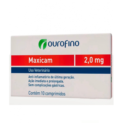Maxicam 2,0MG - 10 Comprimidos