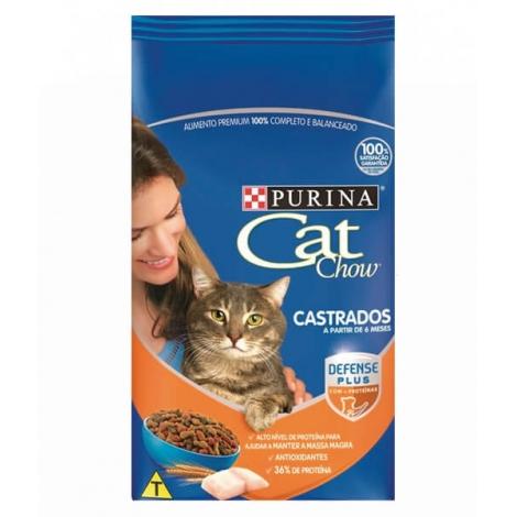 CAT CHOW CASTRADO DEFENSE PLUS 10,1KG