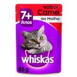 Whiskas Sachê Carne ao Molho - 85g