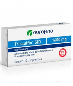 Trissulfin Sid 1,600mg - 5 comprimidos