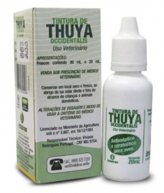 TINTURA DE THUYA OCICIDENTALIS 20ML