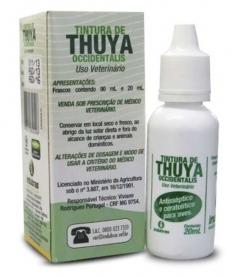 TINTURA DE THUYA  20ML