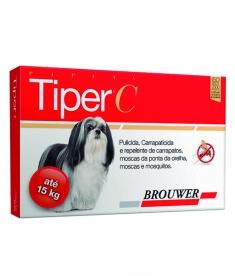 Tiper C para cães até 15 kg