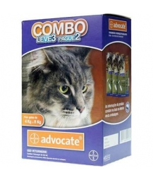 Advocate Gatos Combo 0,8 ml - Gatos de 4 a 8kg