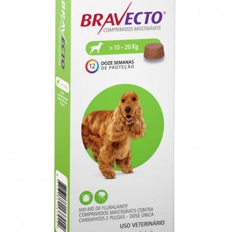 Bravecto 500mg ( 10 a 20kg)