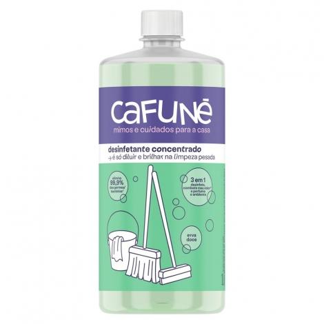 Desinfetante Concentrado Cafuné Pets Erva Doce 3x1 1 litro