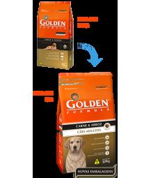 Golden Formula Cães Adultos Carne e Arroz 15kg