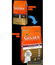 Golden Formula Cães Adultos Carne e Arroz Mini Bits 15kg