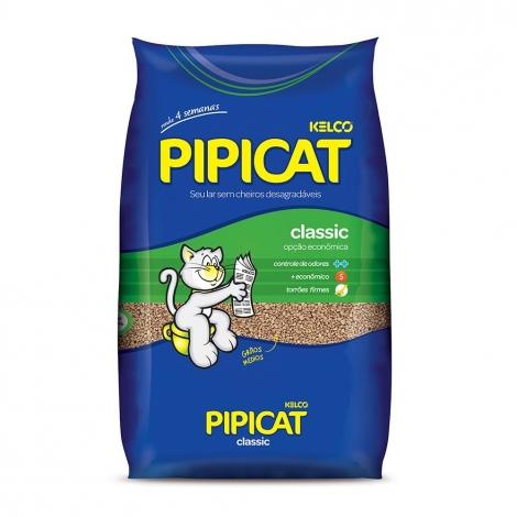 Areia Higiênica Pipicat Classic 4kg