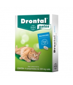 Drontal Gatos 4 comprimidos