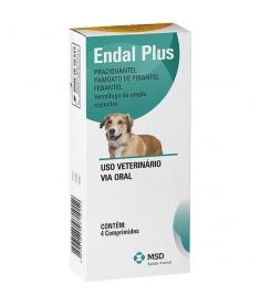 Endal Plus 4 comprimidos