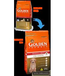 Golden Formula Cães Filhotes Frango e Arroz 15kg
