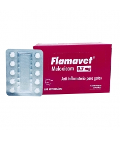 Flamavet Gatos 0,2mg - cartela