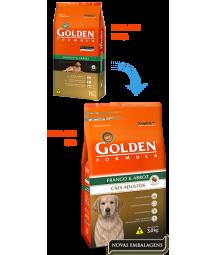 Golden Formula Cães Adultos Frango e Arroz 15kg