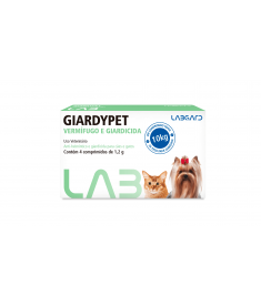 Giardypet 4 comprimidos