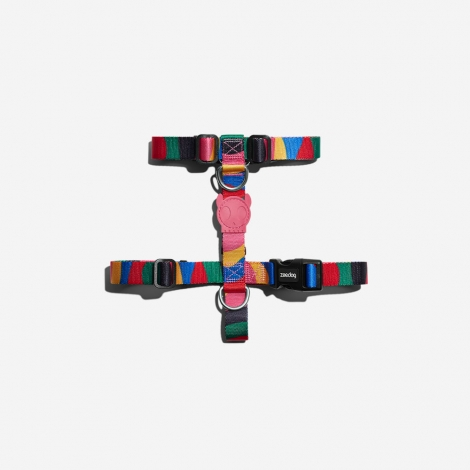 Peitoral H Harness  Zee Dog Chroma PP