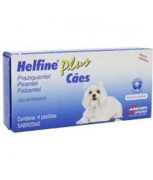 Helfine Plus Cães 4 Comprimidos