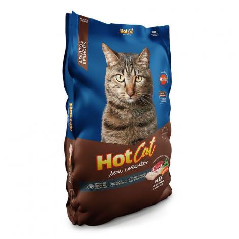 Hot Cat Mix Sem Corantes 25kg