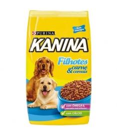 Kanina Filhotes Carne e Cereais 15kg