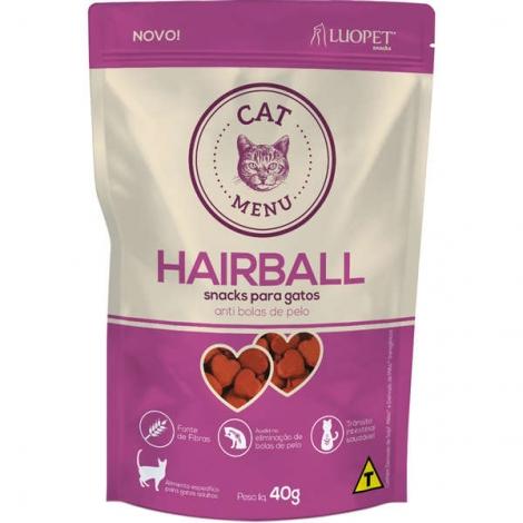 Luopet Snack Gatos  Hairball 40g