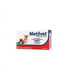 Metilvet 10mg - 10 comprimidos