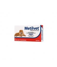 Metilvet 20mg - 10 comprimidos