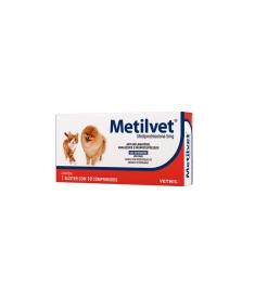 Metilvet 5 mg - 10 comprimidos