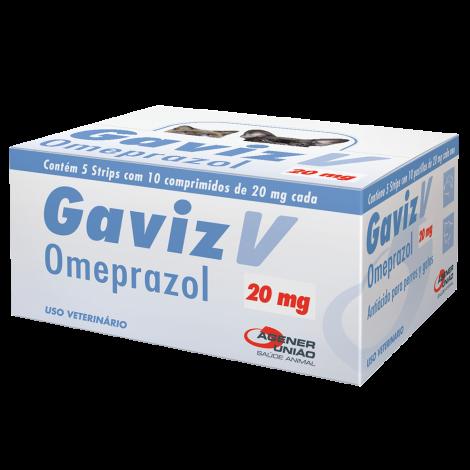 Gaviz V 20MG 10 Comprimidos - Cartela