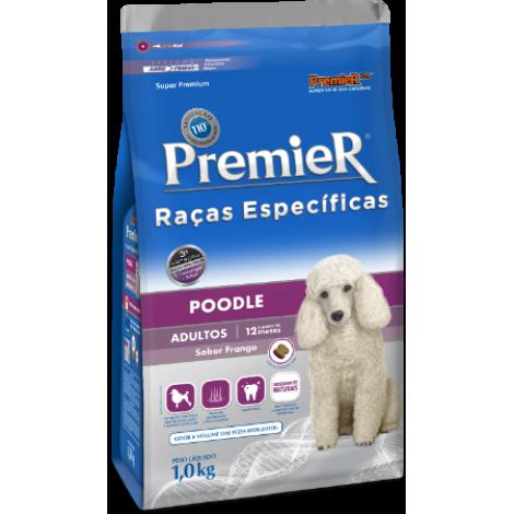 Premier Raças Específicas Cães Adultos Poodle 1kg