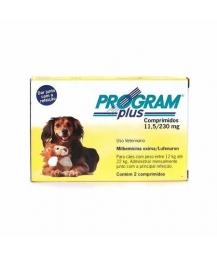 Program Plus 230mg - cães entre 12 e 22kg - 2 comprimidos