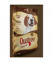 Quatree Gourmet Cães Adultos Raças Médias e Grandes Sem Corantes 15kg