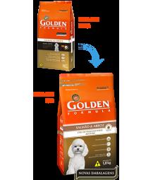 Golden Formula Cães Adultos Salmão Mini Bits 15kg