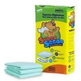 Tapete higiênico super secão com 7 unidades 80x60cm
