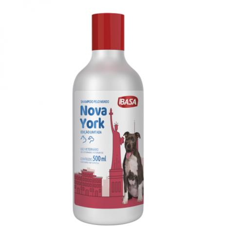 Shampoo Ibasa Pelo Mundo Nova York  500ml