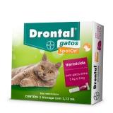 Drontal Gatos Spot On 1,12ml - Gatos entre 5 e 8kg
