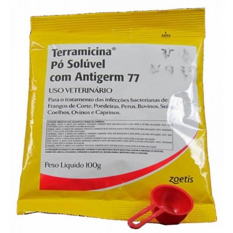 Terramicina Pó Solúvel com Antigerm 77 100g