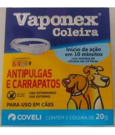 Coleira Antipulgas  Vaponex 20g