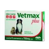Vetmax 700mg - 4 comprimidos