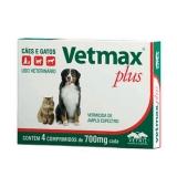 Vetmax Plus 700mg - 4 comprimidos